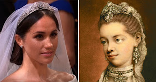 Meghan Markle and Queen Sophia Charlotte