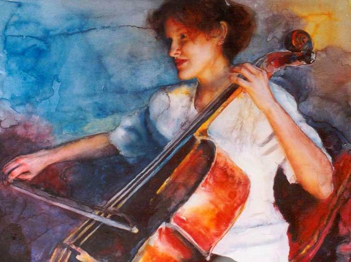 Современные художники Кипра. Sylvia Nitti 5