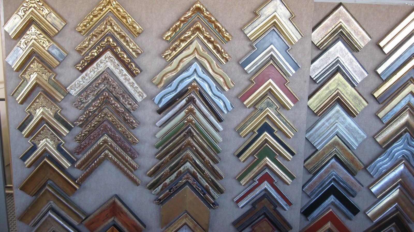 marcos para para cuadros de taller