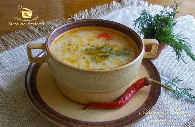 Reteta supa de dovlecei, supa de dovlecel