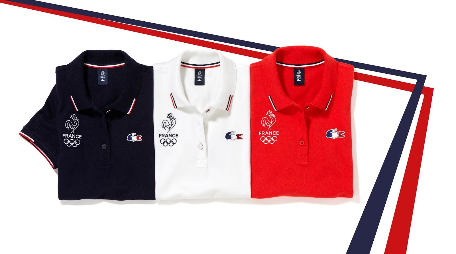 b05d04ccef En avant-première, et grâce à Lacoste qui a déjà diffusé les photos, je  peux vous montrer les vestiaire de l'équipe de France Olympique qui va se  composer ...