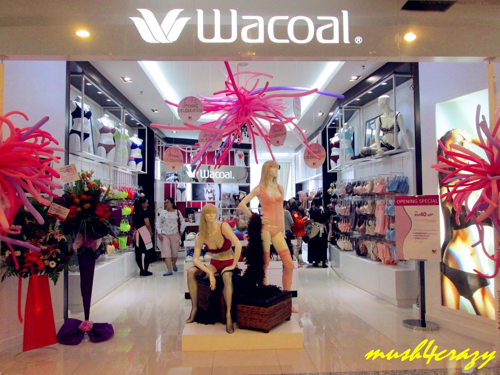 Wacoal Experience the extraordinary fit, comfort and quality that Wacoal intimate apparel provides. Come in for a complimentary bra fitting and personalized intimate apparel makeover in the new store in The Mall at Short Hills.