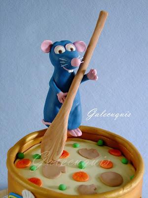 Figura Ratatouille fondant