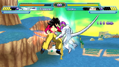 Dragon Ball Z Shin Budokai Another Road - Download Game PSP