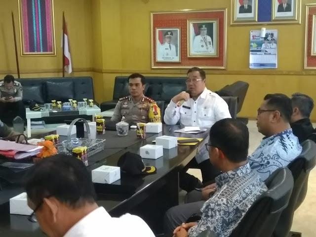 Pemkab OKI Fasilitasi Rangkaian Operasional Pengamanan Pemilu
