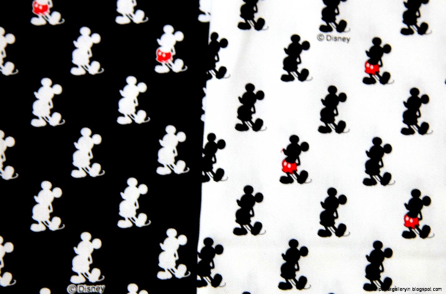 Mickey Mouse Wallpapers Hd Black And White Wallpaper Gallery