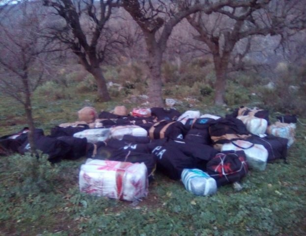 1.28 tons of cannabis seized in Vlora