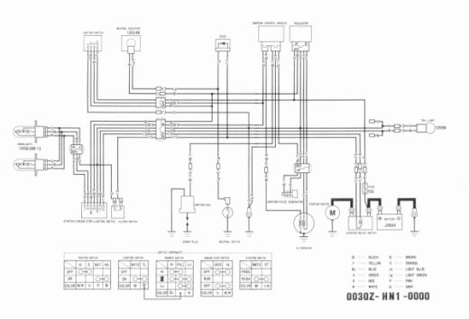 1994 Honda Trx 300 Wiring Diagram Moreover Honda 300ex Engine