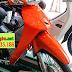 Sơn xe Honda Wave Alpha màu cam bóng [Wave_SG2022]