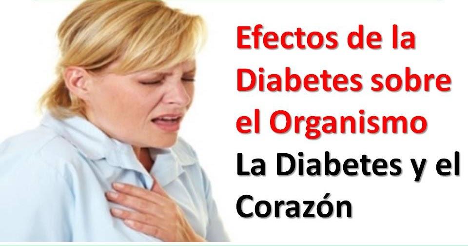 Efectos de la Diabetes sobre el Organismo: Enfermedades
