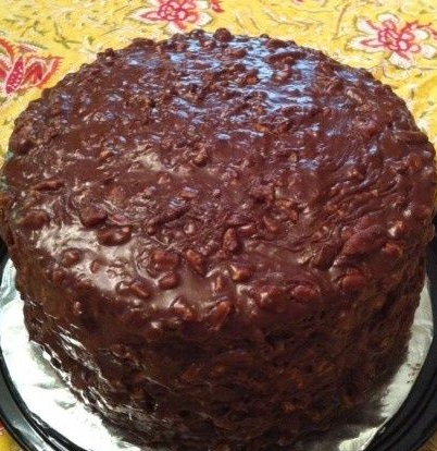 Rich, chocolately goodness. Old Memphis recipe from years ago. You'll forget about every other chocolate cake you've ever eaten after this one!