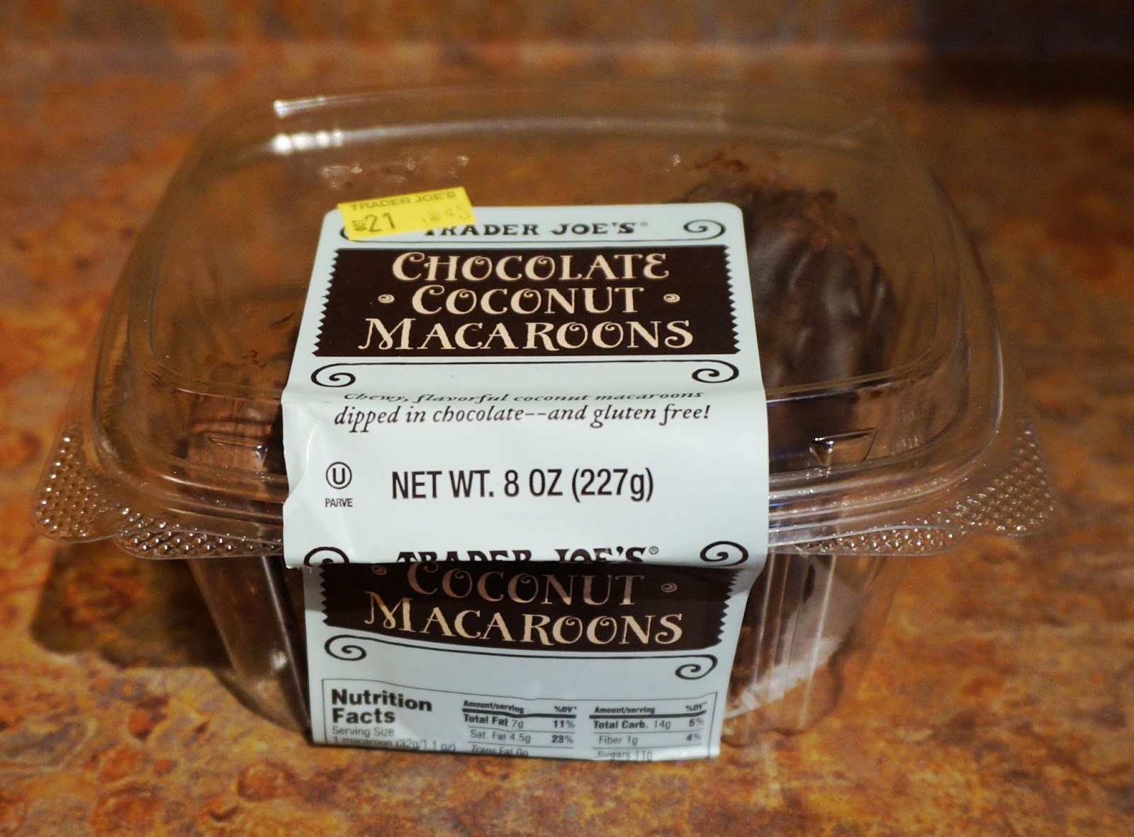 Exploring Trader Joe S Trader Joe S Chocolate Coconut Macaroons
