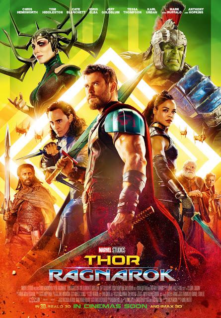 Thor Ragnarok poster recensione