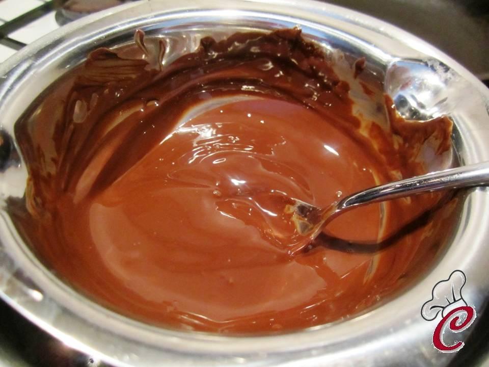 La cuocherellona l 39 arte di stupire e lasciare a bocca - Bagno di cioccolato ...