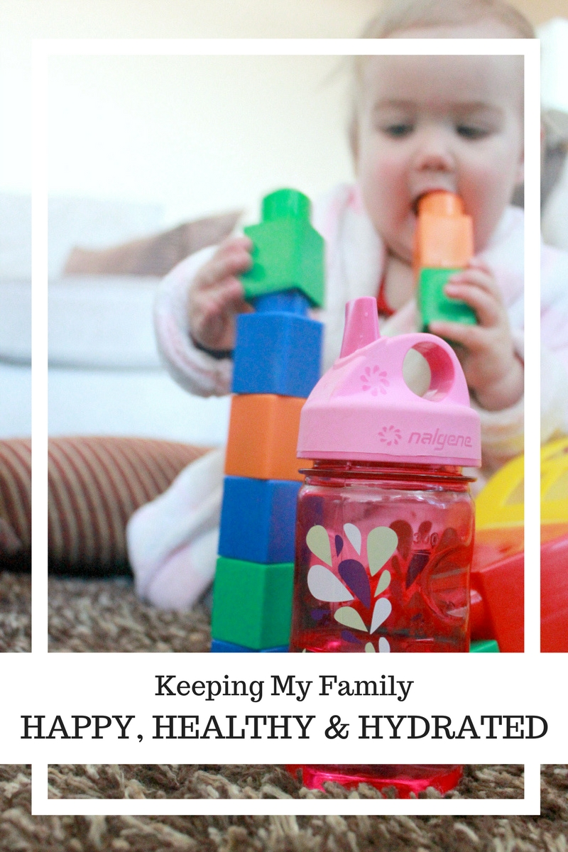 Keeping My Family Happy, Healthy and Hydrated - Nalgene bottle review