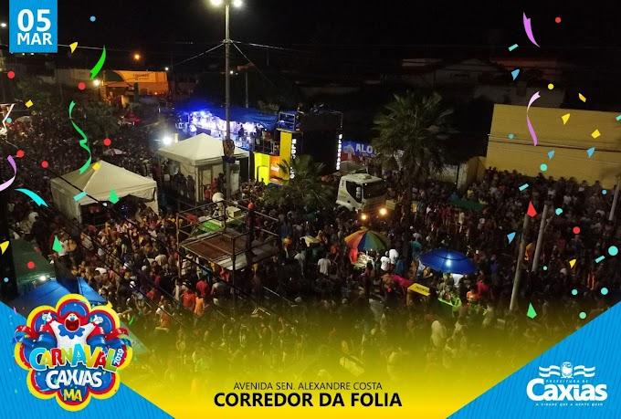REPERCUSSÃO - Paz e tranquilidade foram as atrações principais nos 5 dias do Carnaval de Caxias