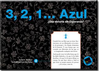 """""""3, 2, 1 ... Azul ¿Una victoria sin Esperanza? palabras aladas rafael r valcárcel lo que leo"""""""
