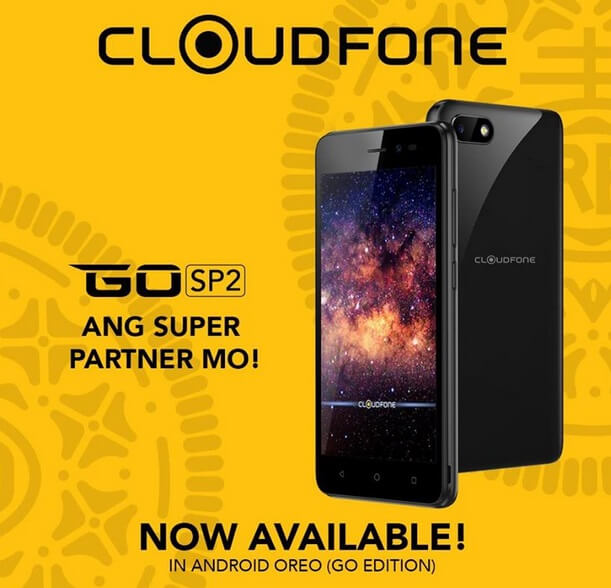 Cloudfone GO SP2