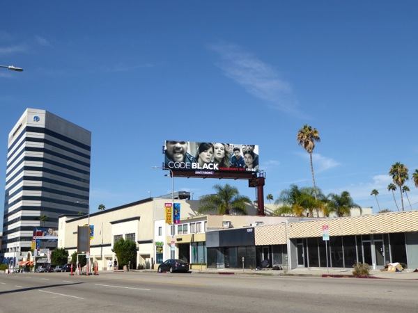 Code Black season 1 billboard