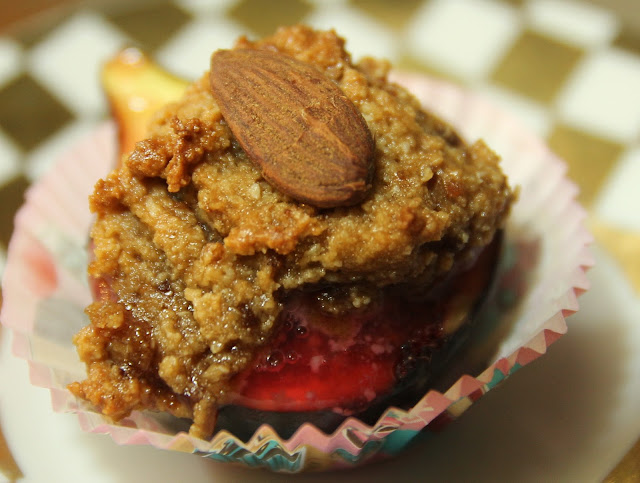 Baked Figs Ratafia Gluten-free organic recipe