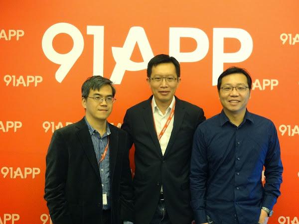91APP獲900萬美元A輪融資,詹宏志策略投資