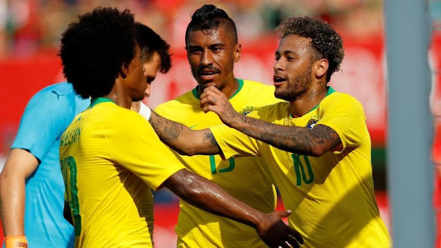 Jadwal Piala Dunia 2018 Grup E: Menanti Goyangan Brasil