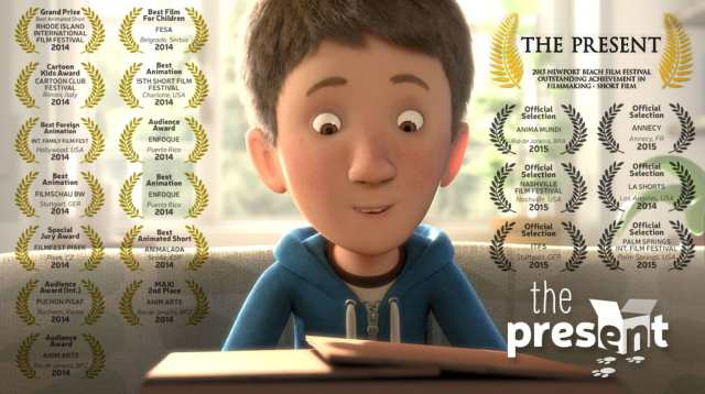 animated short movie the present