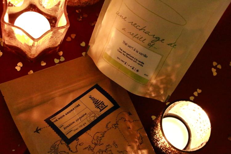 Palais des thés thé vert à la vanille Tea Tower Evasion coquine
