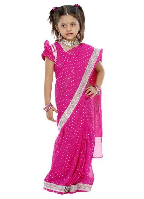 baju sari india anak tanah abang