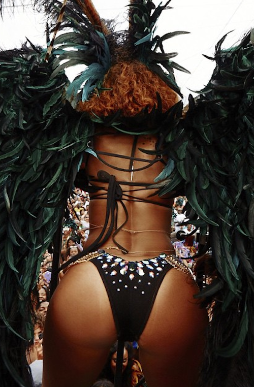Rihanna in Bitch Better Have My Money Carnival photo