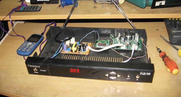 Modifikasi Receiver Parabola Menjadi Pemancar FM 87.5