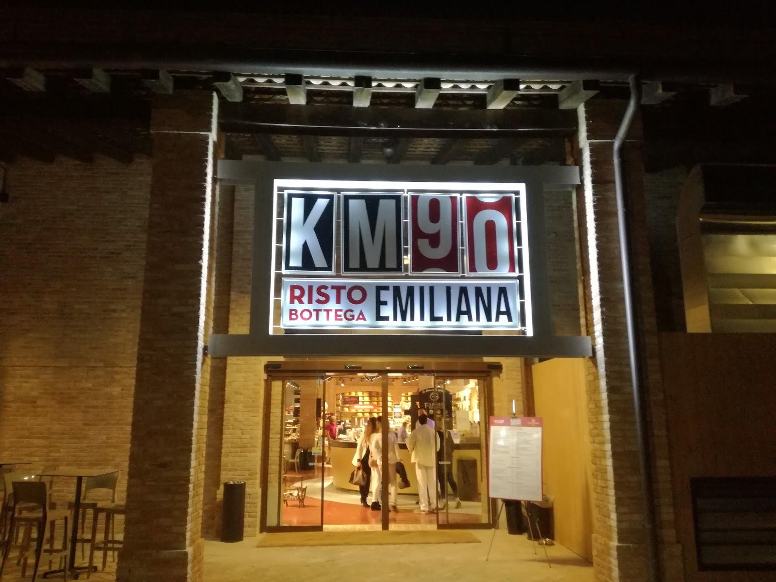 MonnElisa: KM 90....Ristobottega emiliana... Fidenza (Parma)
