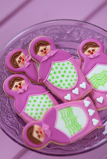 Cookies Poupées russes