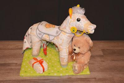 koń z pampersów
