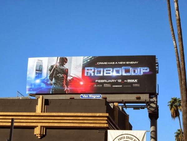 Robocop movie billboard