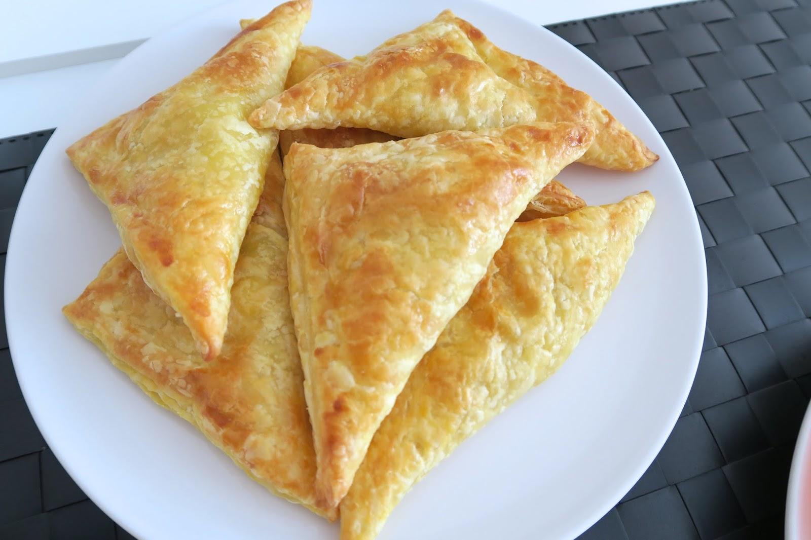 tuna pastries