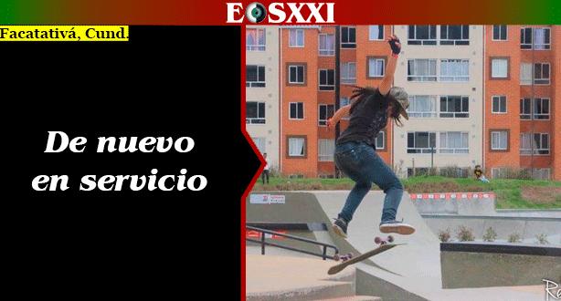 Reabre sus puertas el Skatepark de Facatativá