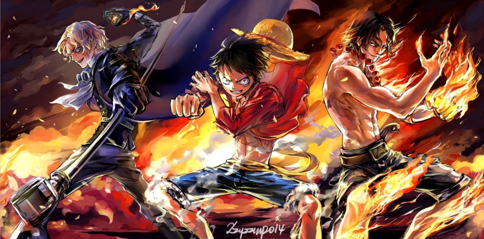 Anime One Piece Desktop Wallpaper Eazy Wallpapers
