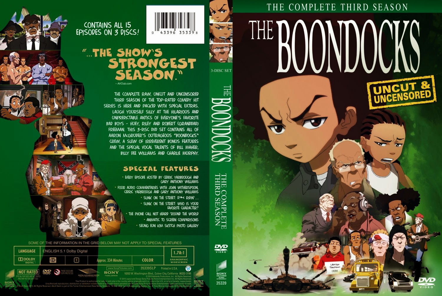 1 SAISON THE TÉLÉCHARGER BOONDOCKS