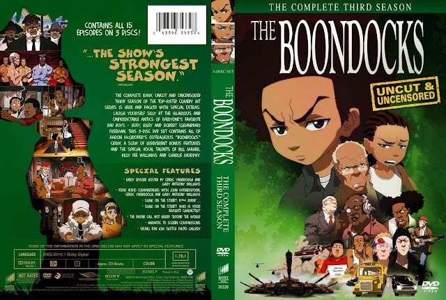 Descarga la serie the boondocks español latino TEMPORADA 1