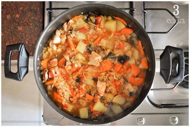 sopa de legumes como preparar