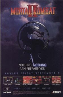Mortal Kombat 2+arcade+game+portable+art+flyer