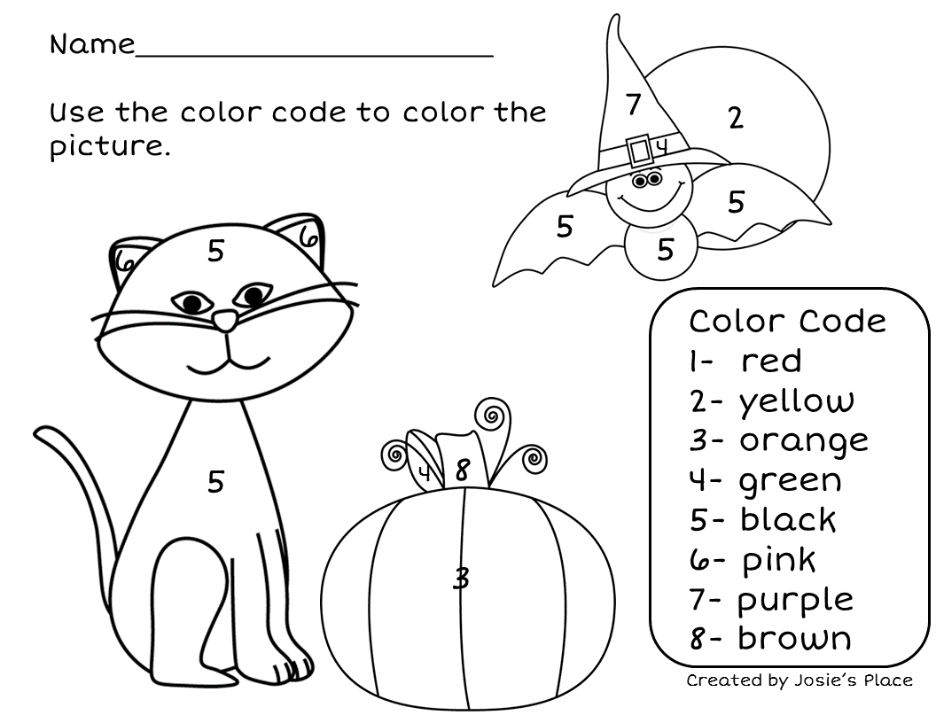 english numbers coloring pages - photo#42