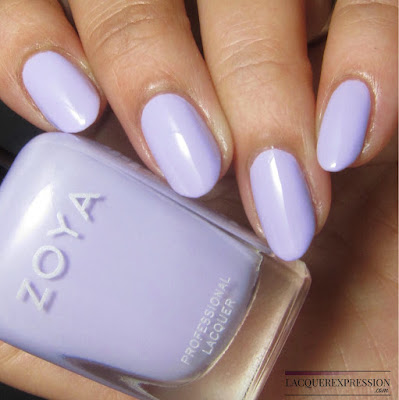 swatch of Abby from the Zoya Charming Spring 2017 nail polish collection