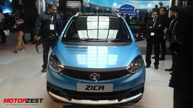 Tata Motors Zica at the Auto Expo 2016 India