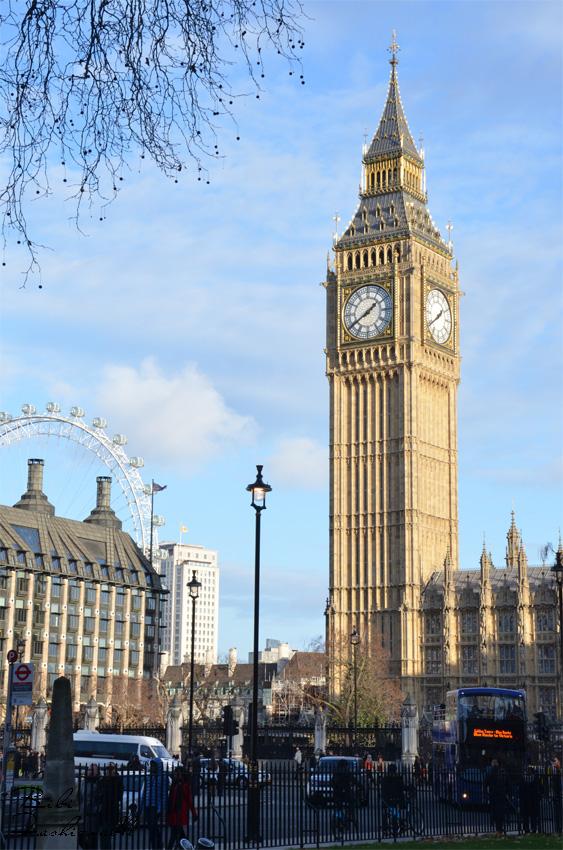 London Eye und Big Ben