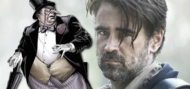 The Batman: Colin Farrell usará próteses para interpretar Pinguim