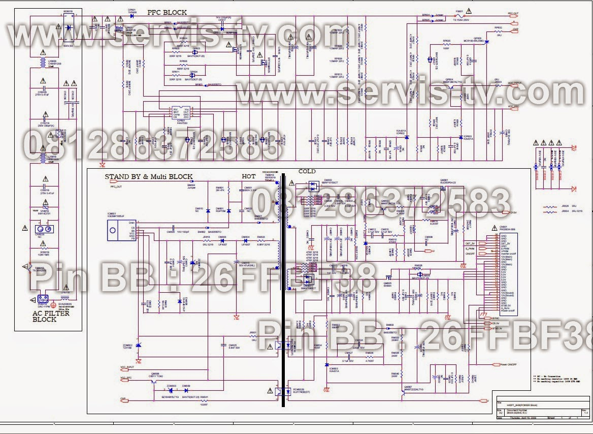 Skema Power Supply BN 44-00264C