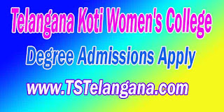 Telangana Koti Women's College Degree Admissions 2016 Online Apply dost.cgg.gov.in