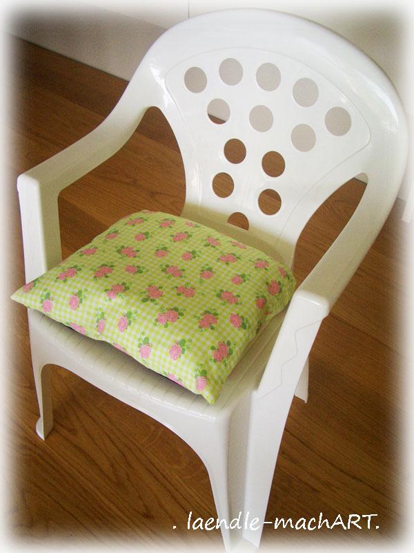laendle machart diy polster f r kinder gartenst hle. Black Bedroom Furniture Sets. Home Design Ideas